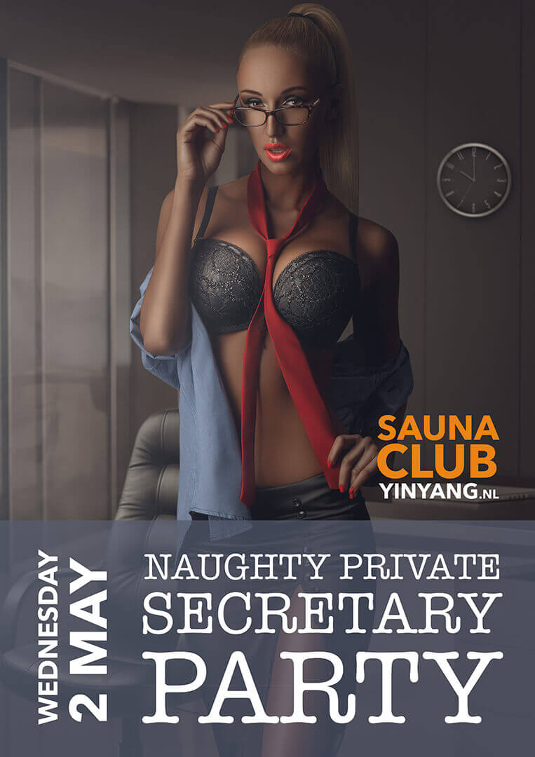 Naughty private secretary party